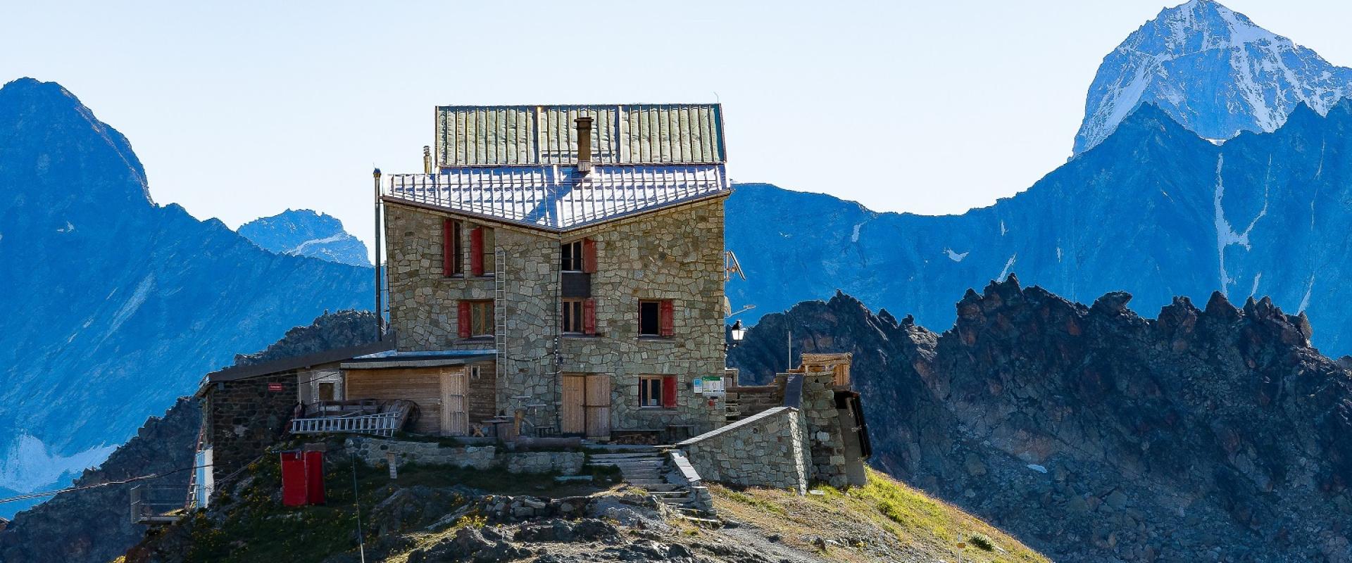Berghütten und Schutzhütten