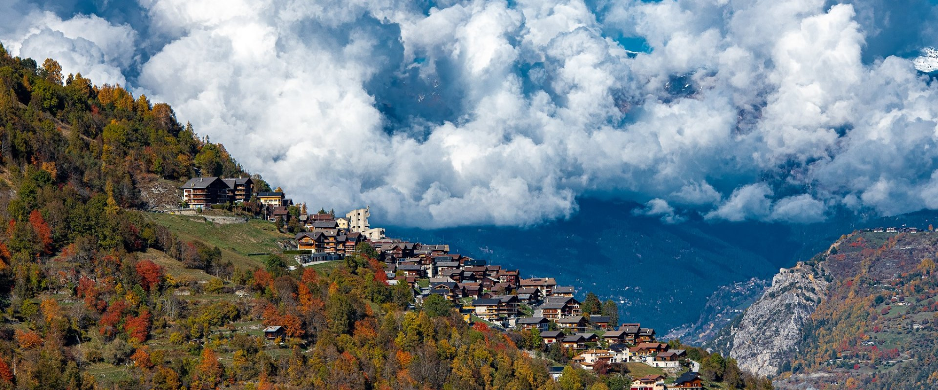 Hérémence und typische Dörfer