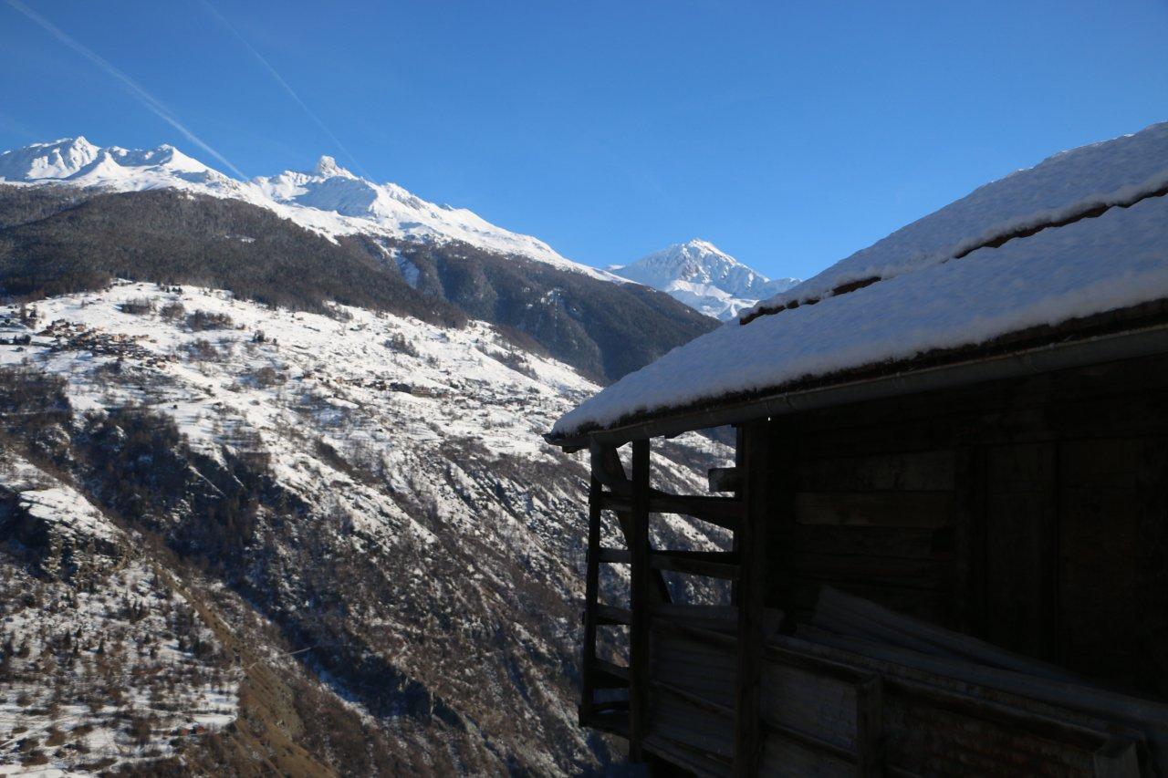 Balade hivernale d'Hérémence à Prolin