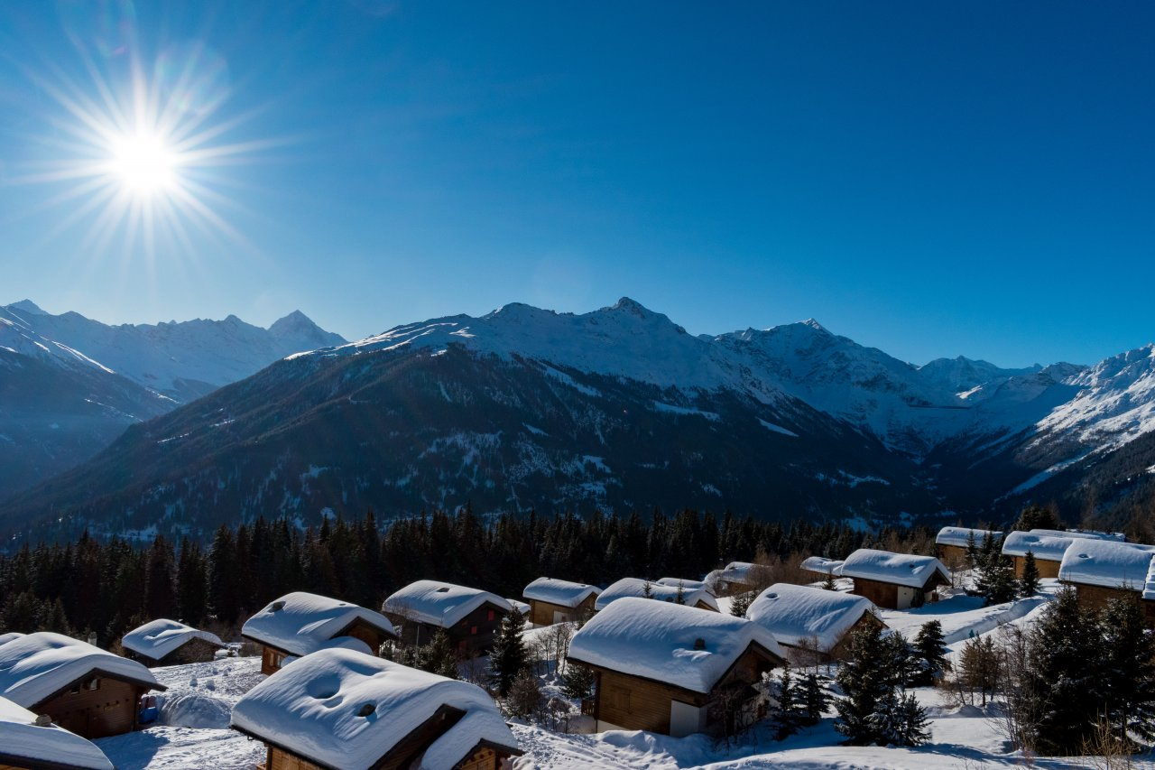 Skiez aux 4 Vallées depuis Les Masses