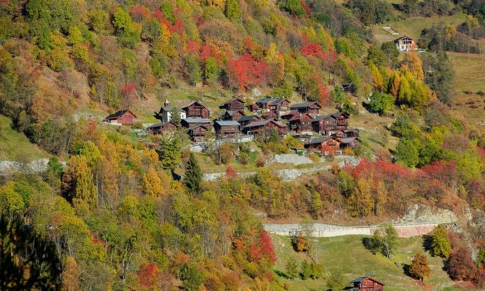 L'automne en Valais
