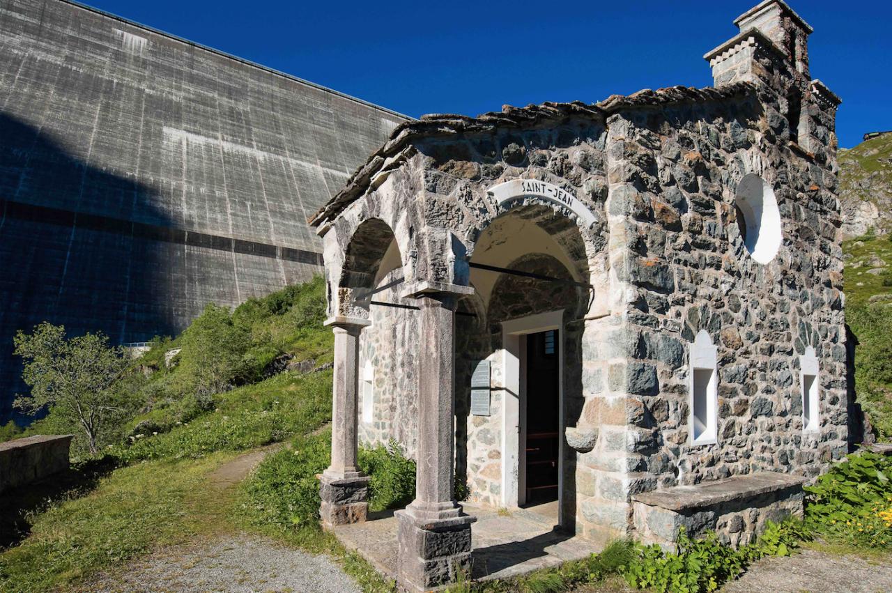 The Grande-Dixence Dam