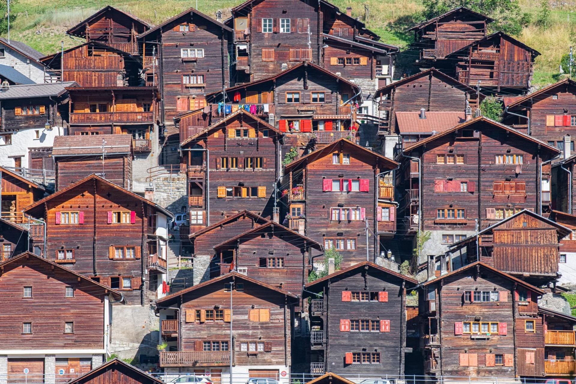 Mâche, authentique village du Valais